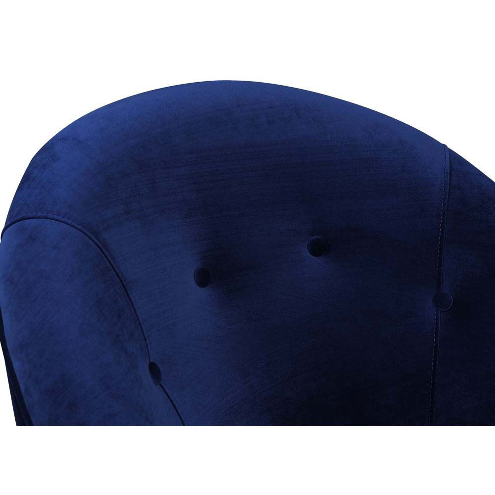 Trinity Accent Chair - Blue - Top