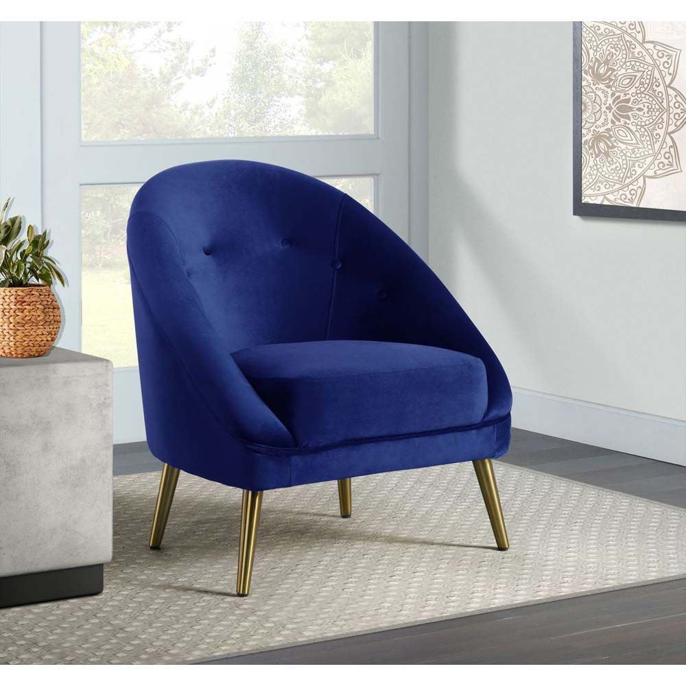 Trinity Accent Chair - Blue - Lifestyle