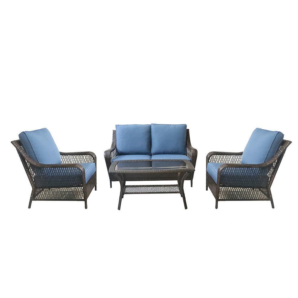 Reno Outdoor Wicker Seating Set