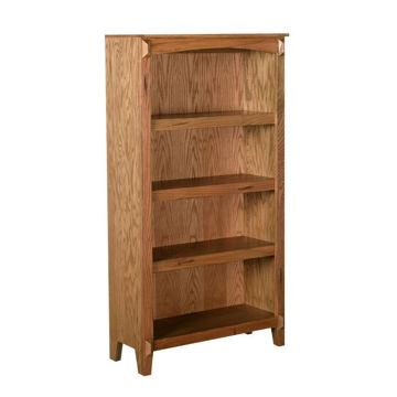 """Golden Oak 60"""" Bookcase"""