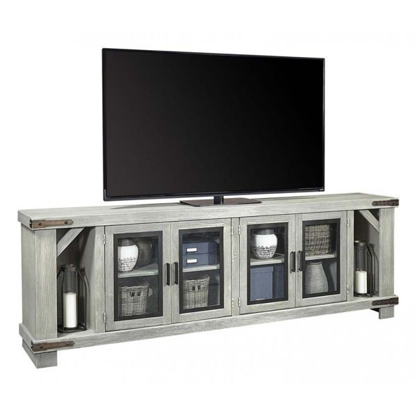 "Picture of Sawyer 98"" Light Gray Console"