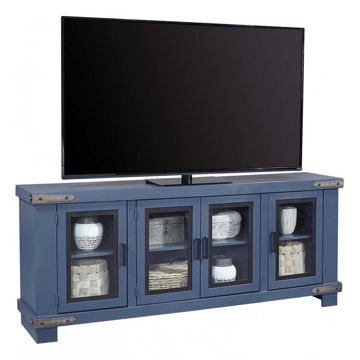 "78"" Sawyer Blue Console"