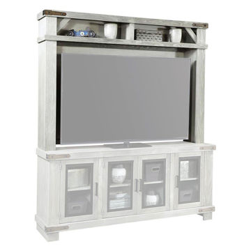 "78"" Sawyer Light Gray Hutch"