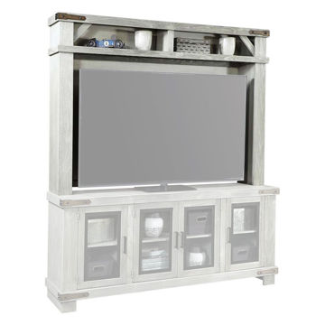 "98"" Sawyer Light Gray Hutch"