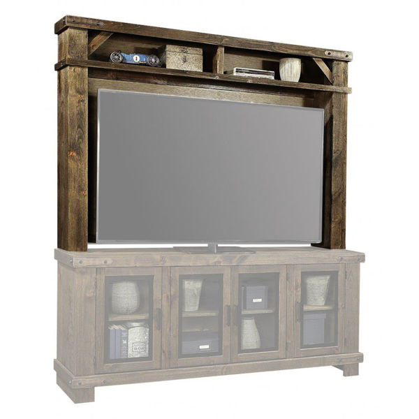 "78"" Sawyer Brindle Hutch"