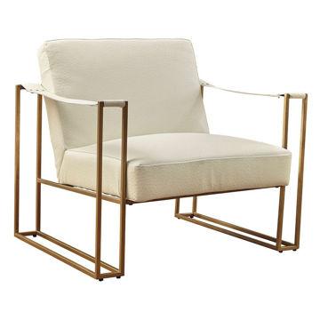 Sasha Cream Accent Chair