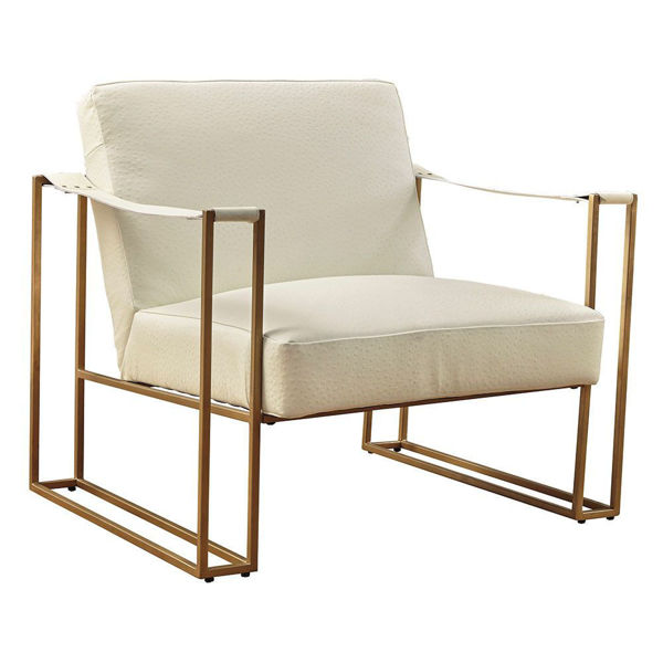 Sasha Cream Accent Chair