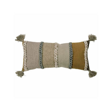 Decorative Natural Braided Pillow