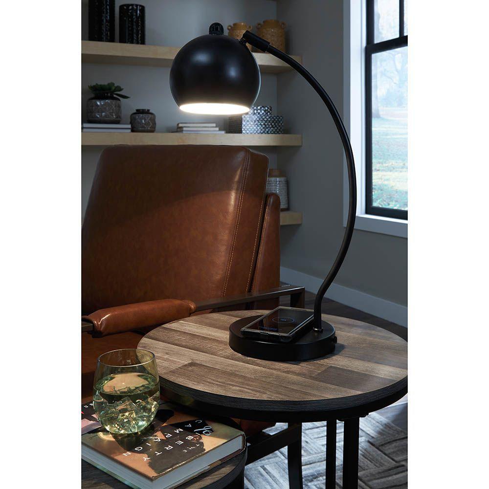 Picture of Marin Black Desk Lamp