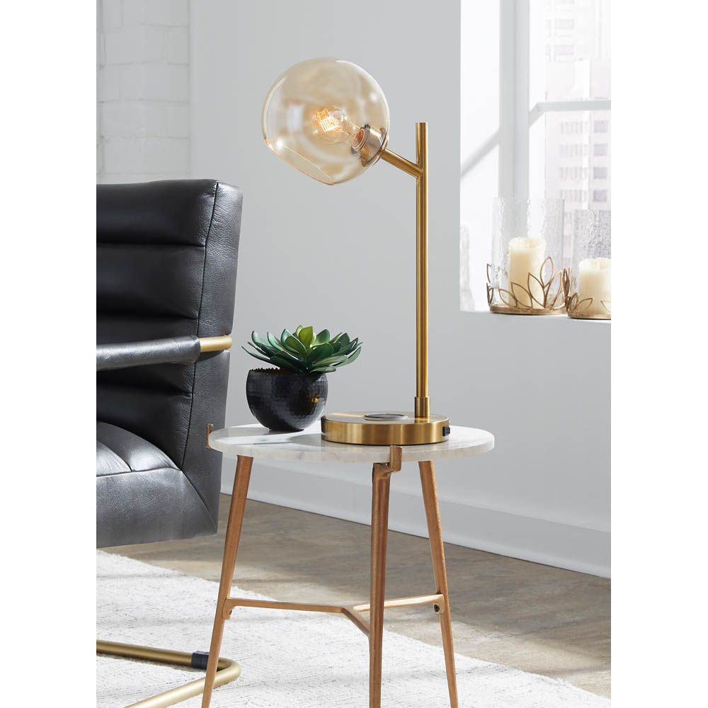 Picture of Baning Gold Desk Lamp