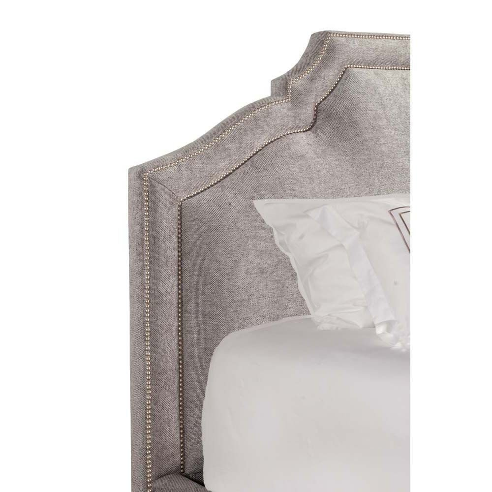 Picture of Casey Upholstered Bed - Grey