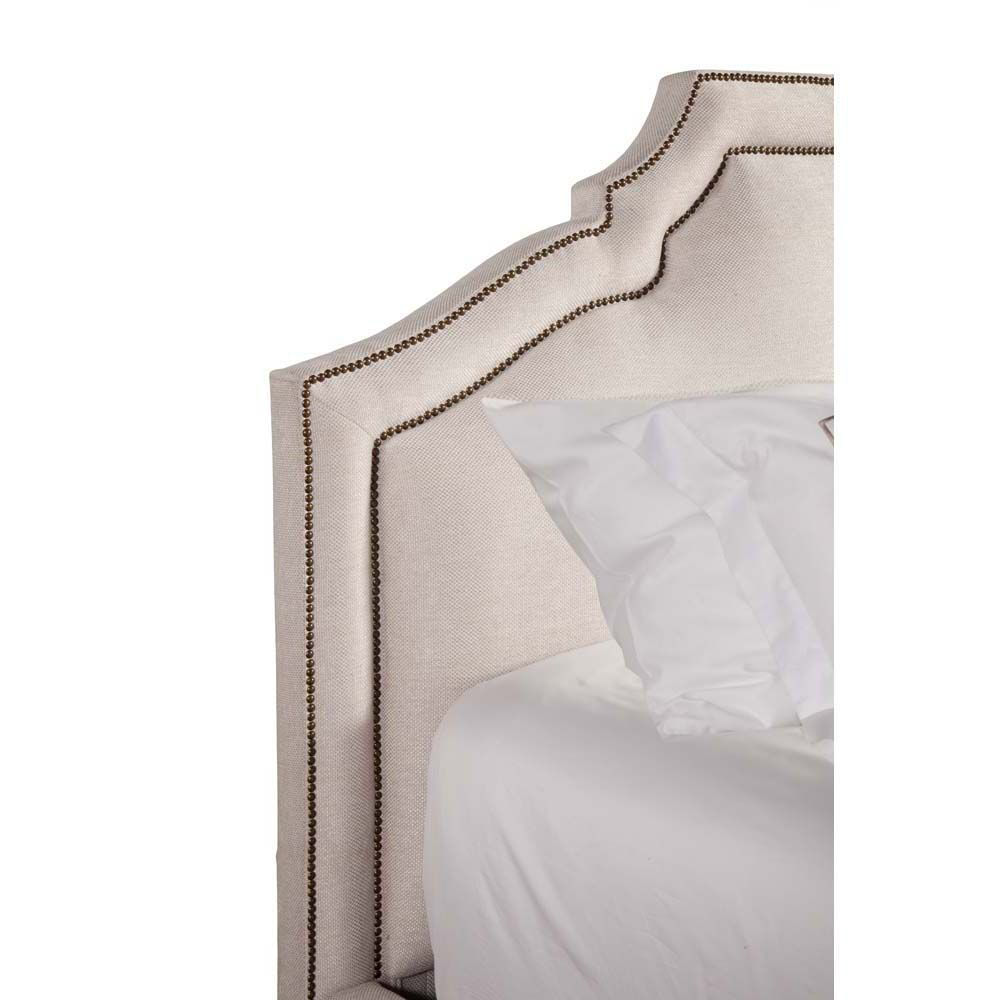 Picture of Casey Upholstered Bed - Natural