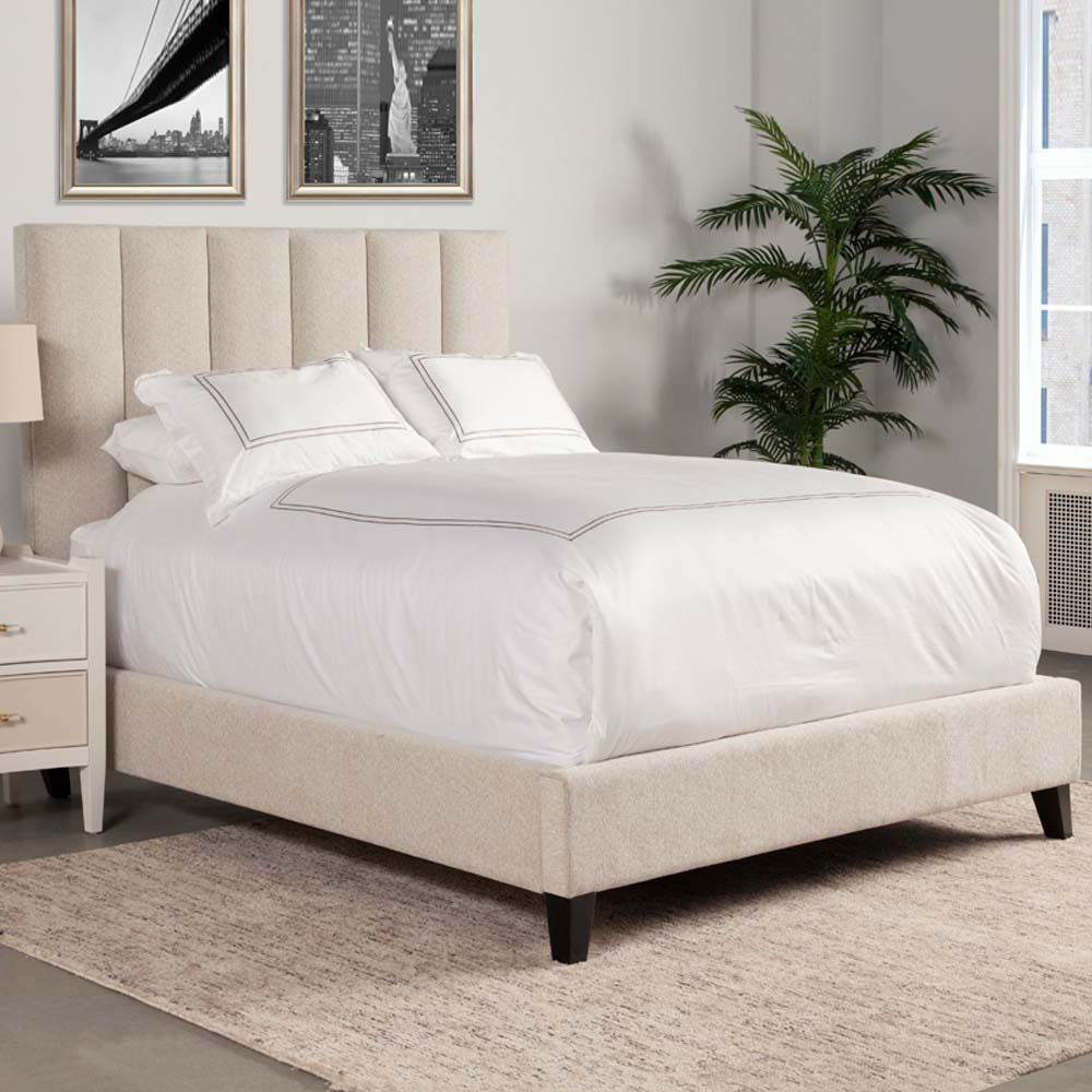 Picture of Avery Upholstered Bed - Natural