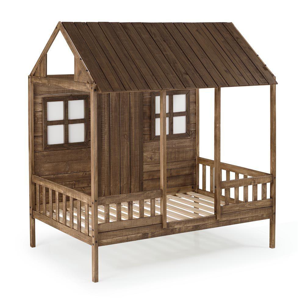 Front Porch Low Loft Bunk Side