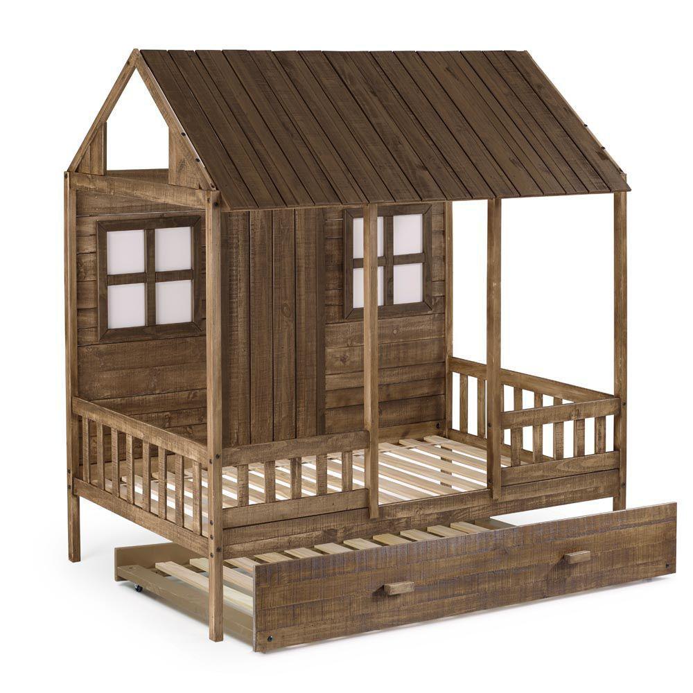 Front Porch Low Loft Bunk Side Alt2