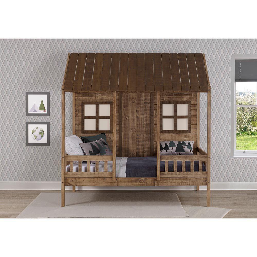 Front Porch Low Loft Bunk Side Lifestyle