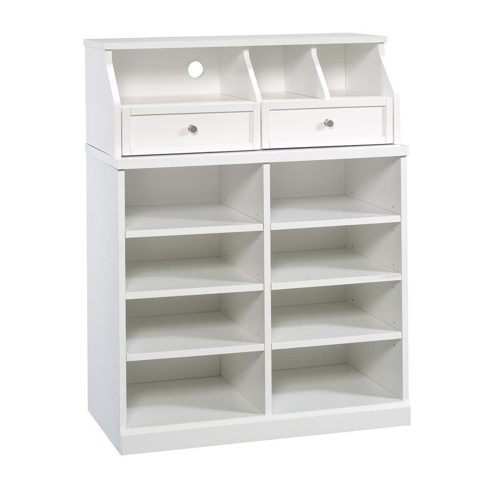 Picture of Open Storage Cabinet - Soft White