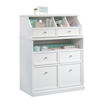 Crafting Storage Cabinet - Soft White