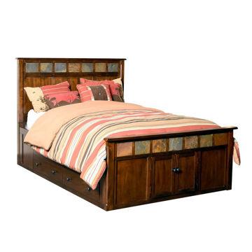 Santa Fe Captain's Bed - King