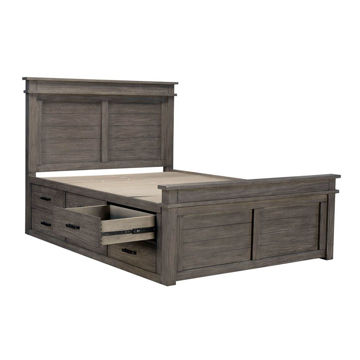 Picture of Glacier Point Captain's Bed - Queen