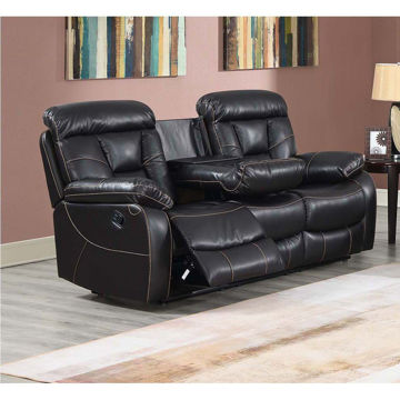 Squire Reclining Sofa With Drop Down Console