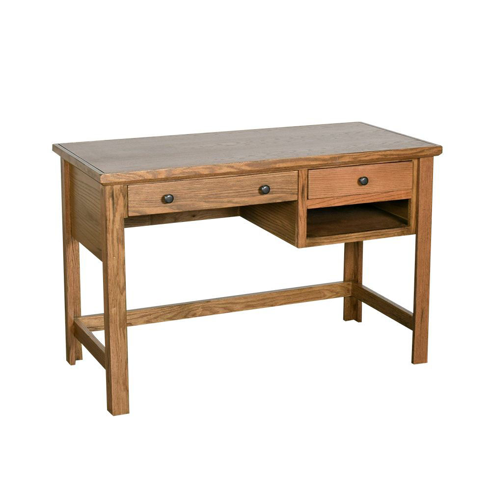 "Picture of Golden Oak 48"" Writing Desk"