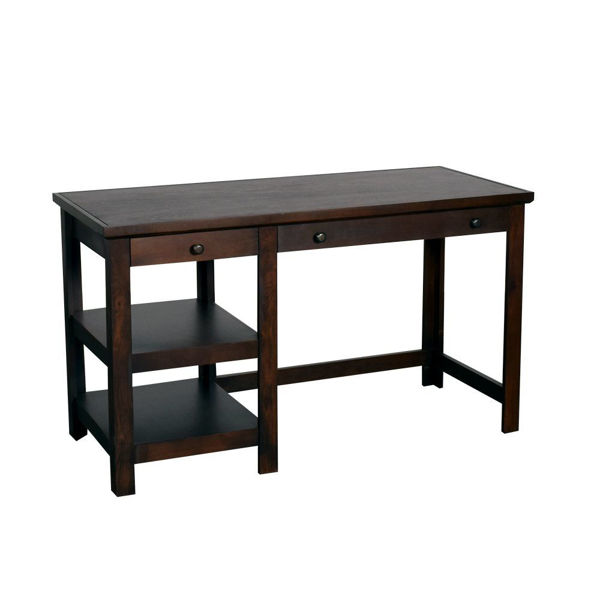 "Picture of Cafe 54"" Brown Writing Desk"