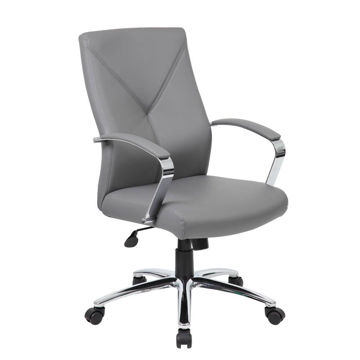 Picture of Basalt Desk Chair - Gray