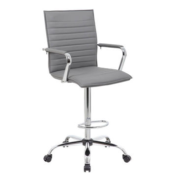Picture of Shale High Desk Chair - Gray