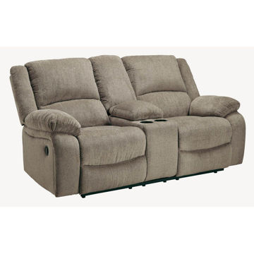 Drake Console Reclining Loveseat