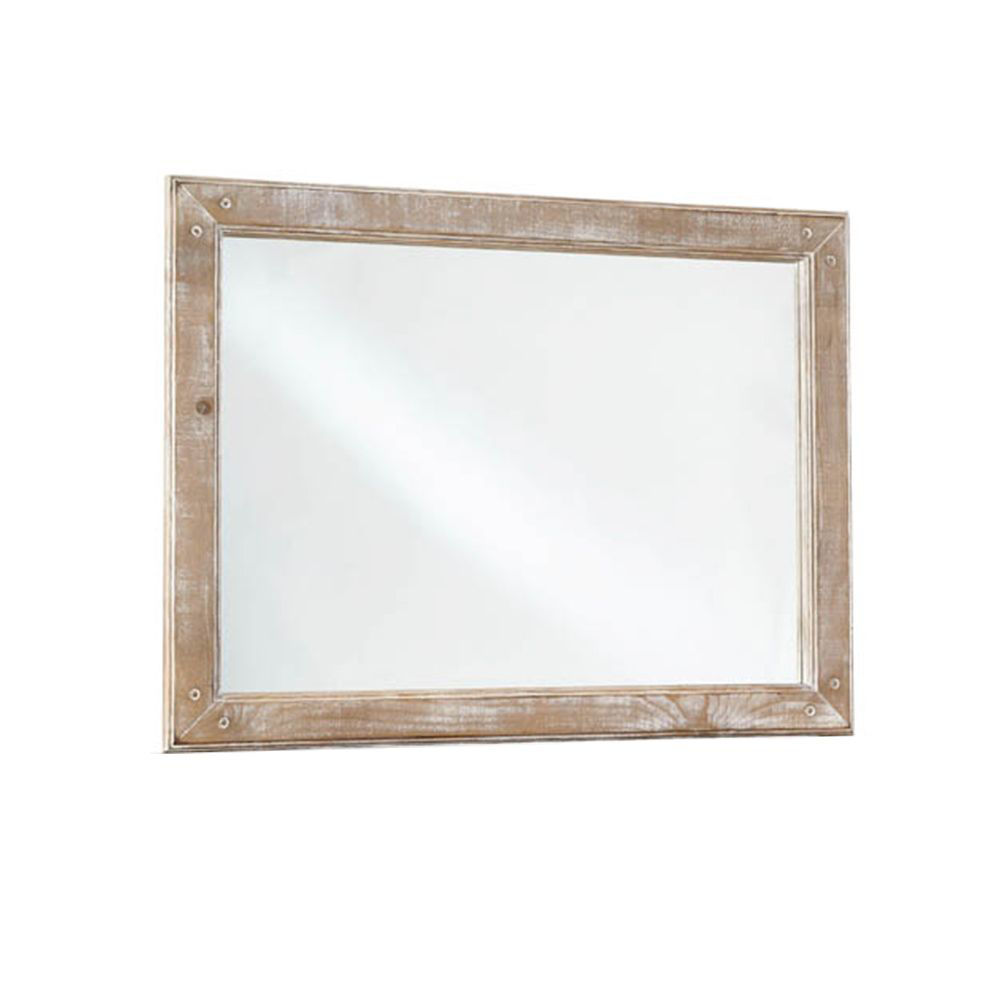Picture of Chatsworth Mirror - Chalk
