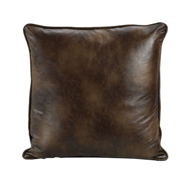 Picture of Brown Faux Euro Sham