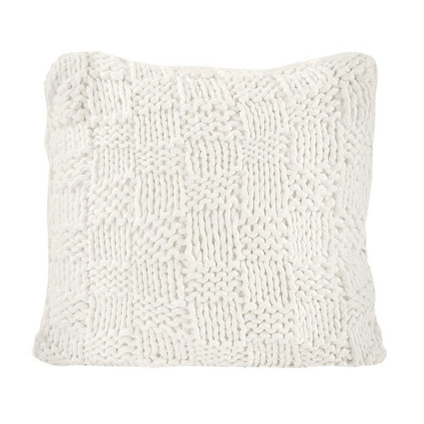Picture of Chess Knit Euro Sham - Natural