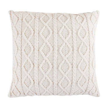 Picture of Cable Knit Euro Sham - Cream