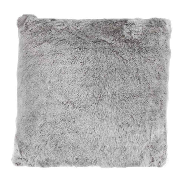 Picture of Arctic Bear Mink Euro Sham - Gray