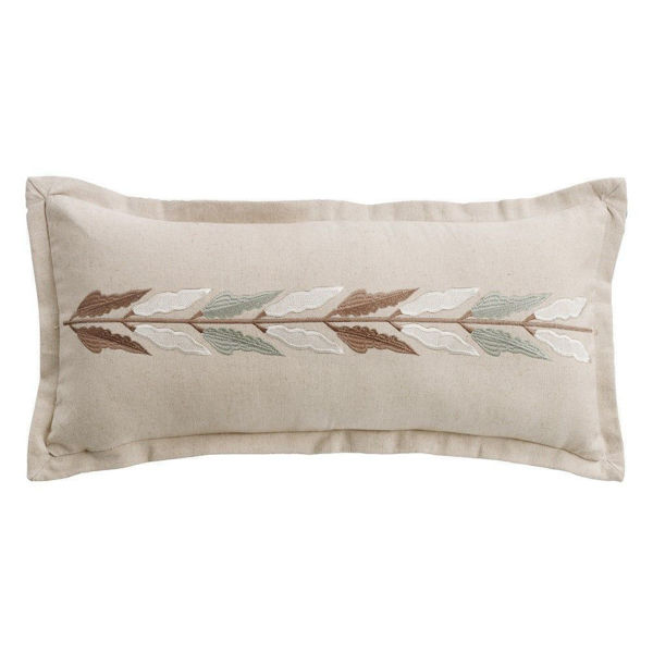 Picture of Belmont Embroidered Linen Pillow