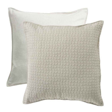Picture of Wilshire Reversible Textured Fabric Euro Sham