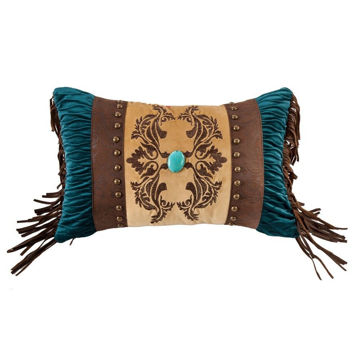 Picture of Loretta Faux Leather Deco Pillow