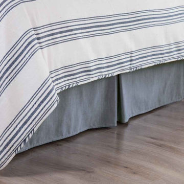 Picture of Chambray Bedskirt - Queen