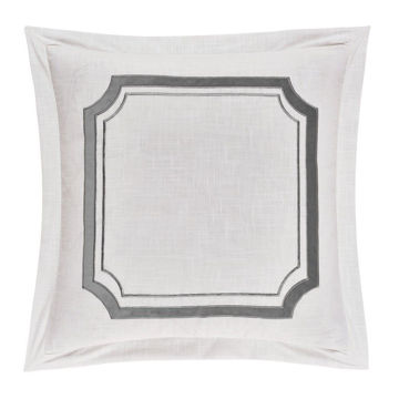 Picture of Madison Linen Euro - Gray