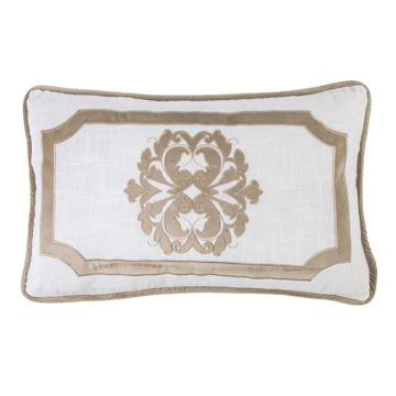 Picture of Madison Oblong Linen Pillow - Oatmeal