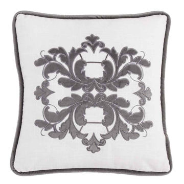 Picture of Madison Square Linen Pillow - Gray