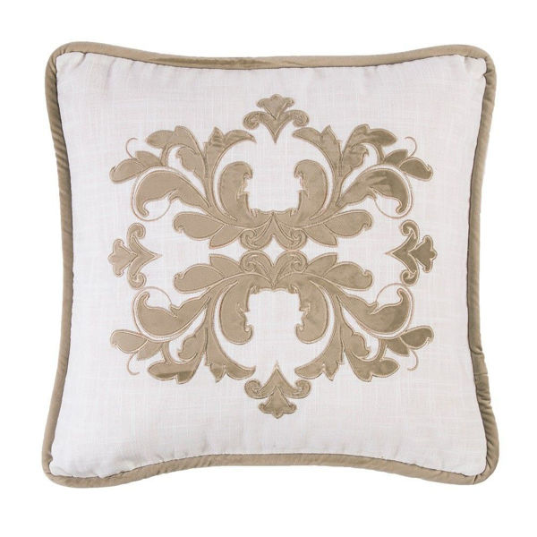 Picture of Madison Square Linen Pillow - Oatmeal