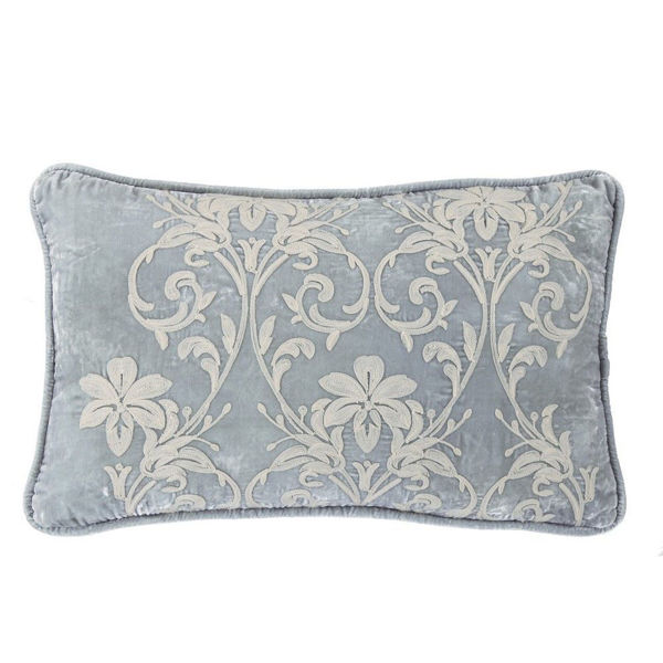 Picture of Belle Embroidery Velvet Pillow