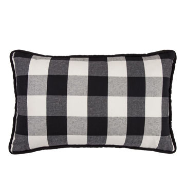 Picture of Blackberry Buffalo Check Pillow