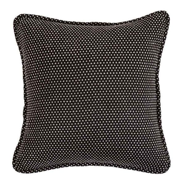 Picture of Blackberry Polka Dot Reversible Pillow