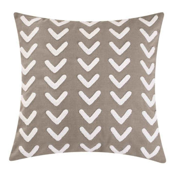 Picture of Trent Applique Arrow Design Pillow