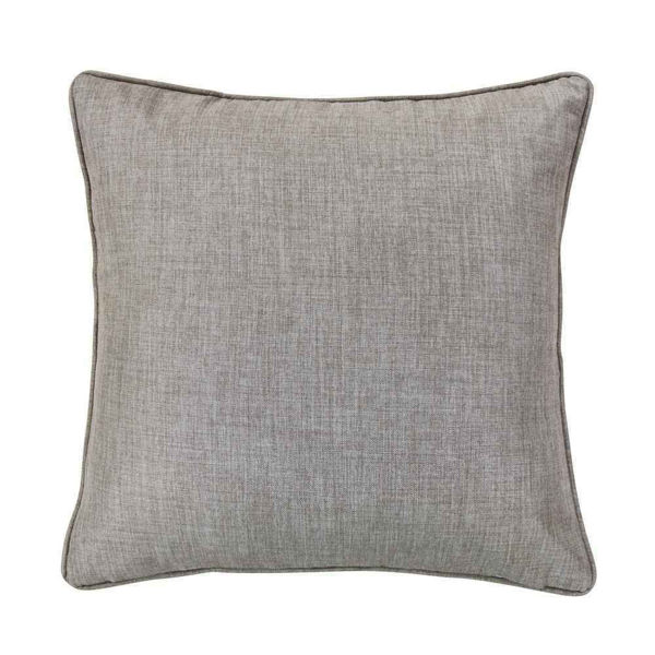 Picture of Gray Taupe Linen Euro Sham