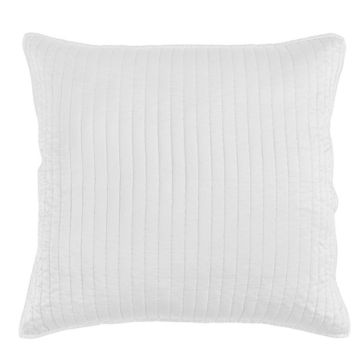 Picture of Satin Quilted Euro Sham - White