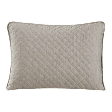 Picture of Anna Sham Pair - Taupe